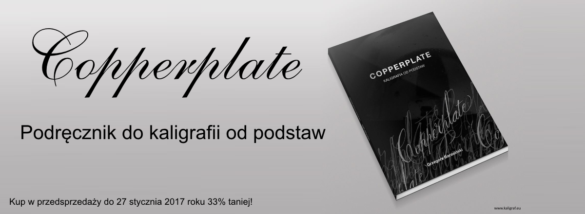 Copperplate. Podręcznik do kaligrafii od podstaw