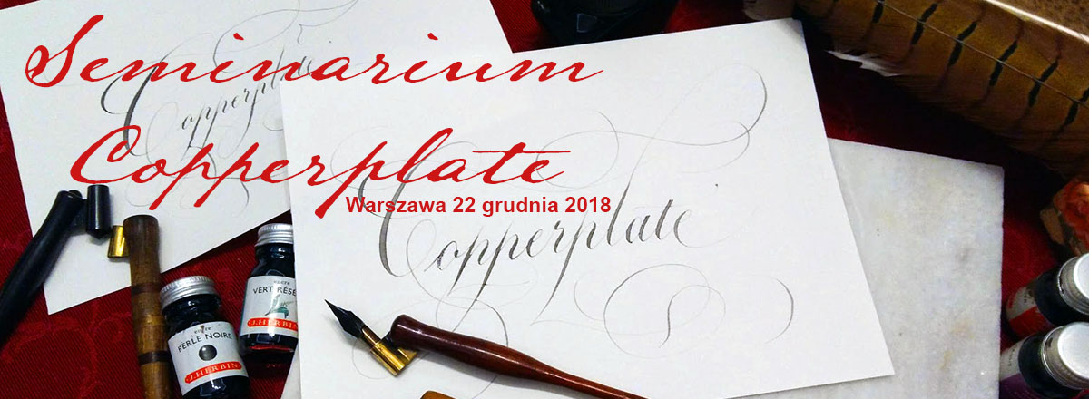 Seminarium Copperplate Script 2018