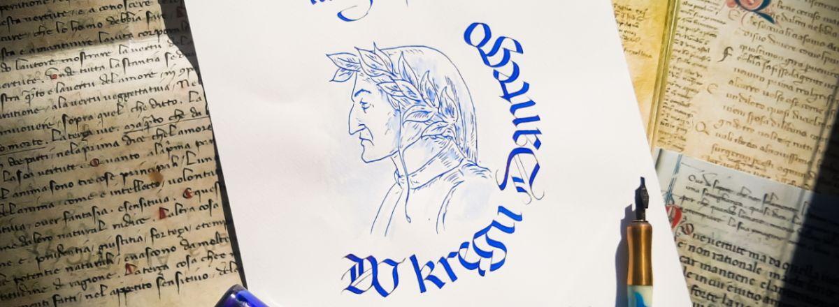 Warsztaty kaligrafii z Danielem Dostalem w Łodzi - Signum et Imago